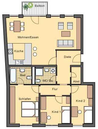 4-х комнатные квартиры в
