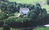 Замок в Европе недалеко от Мюнхена