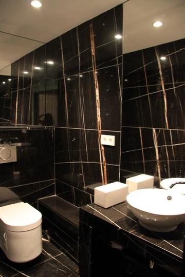 Стильно  разработанные туалеты и санитарные узлы