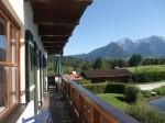 Вид летом с балкона