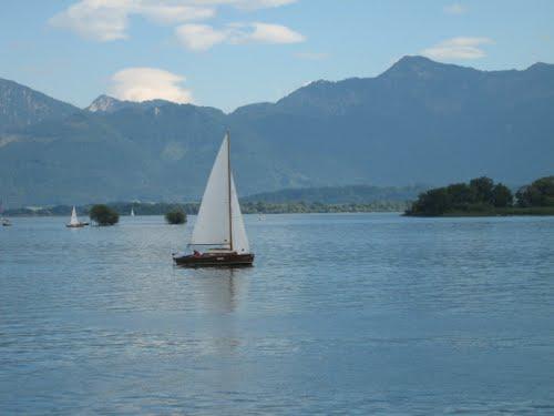 Озеро Chiemsee / Химзее