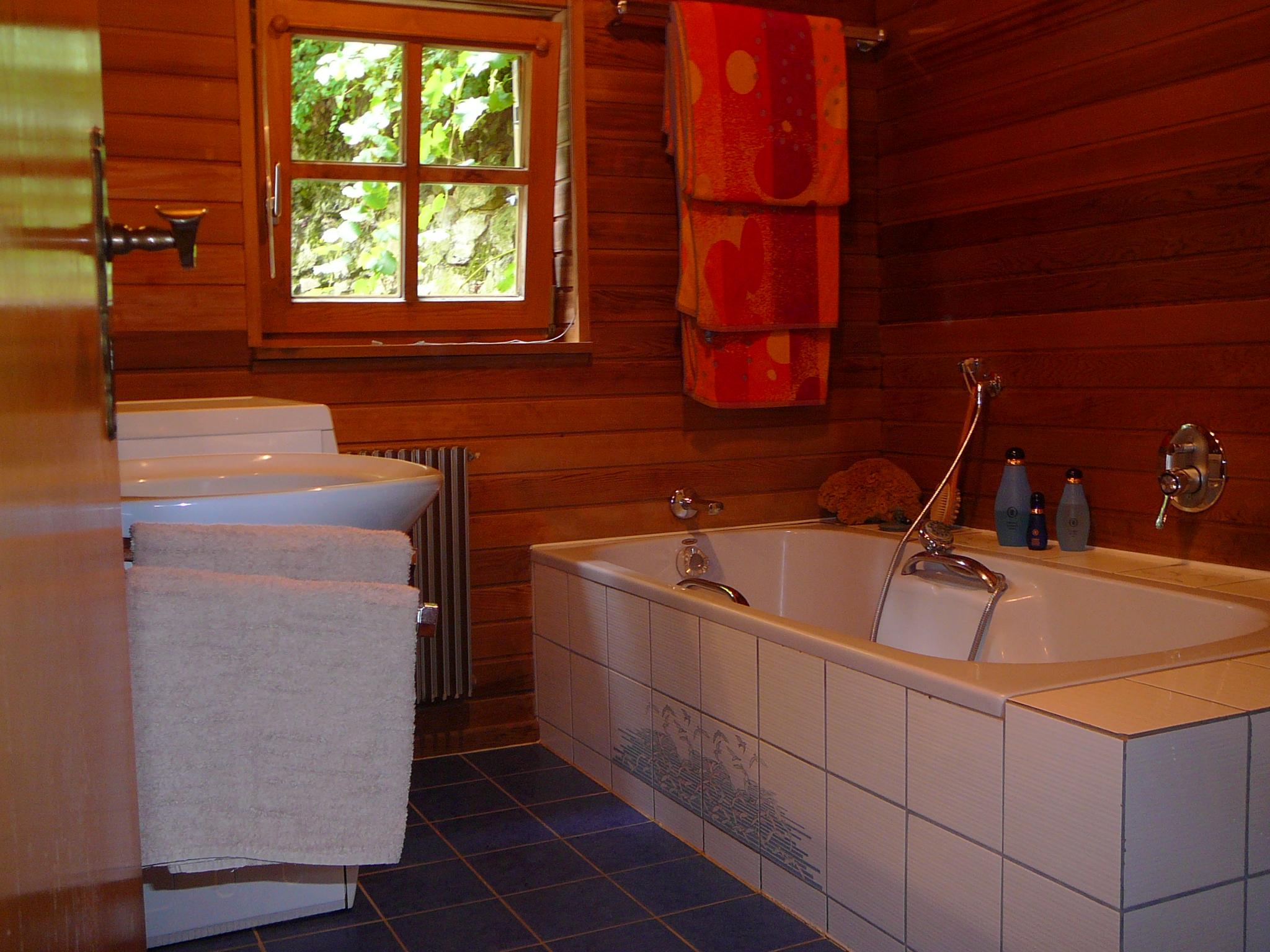 Как сделать ванную в деревне 989