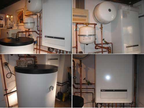 В доме новая система отопления
