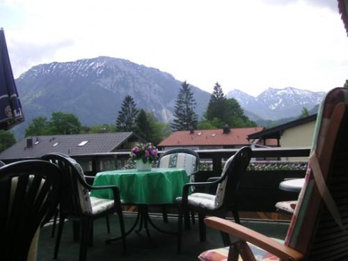 Вид с террасы гостиницв