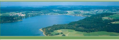 Вид на озеро Симзее