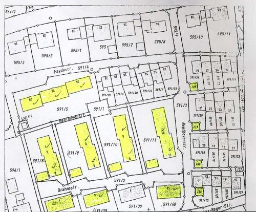 Межевой план жилого комплекса, Германия, Бавария, продажа