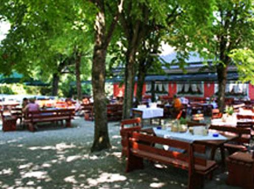 Пивной сад - гостиничный и ресторанный бизнес в Германии, Бавария