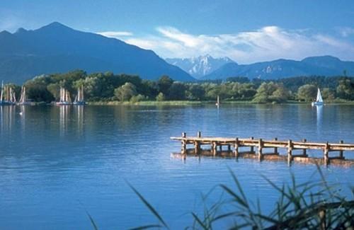 Вид озера