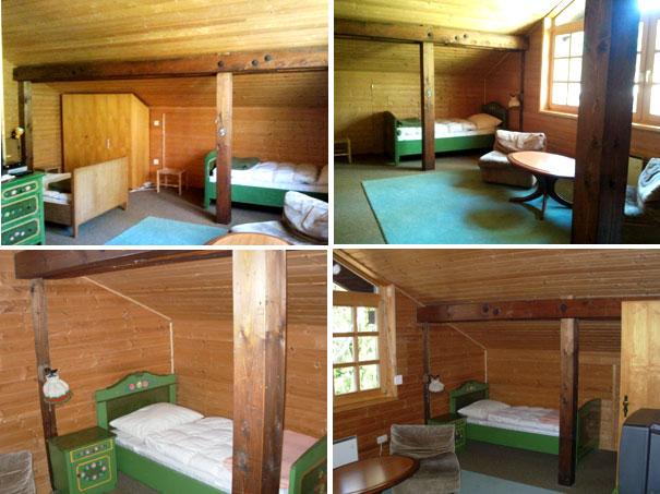 Первая спальная комната на втором этаже