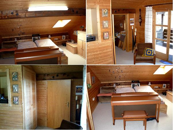 Вторая спальная / жилая комната на втором этаже