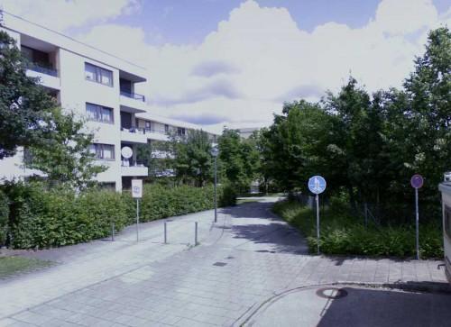 Продажа квартиры Мюнхене, вид дома и улицы