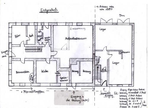 Первый этаж дома описание