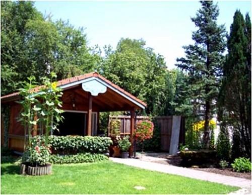 Вид садового домика