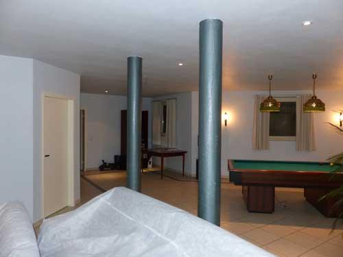 Бильярдная комната в цокольном / подавльном этаже