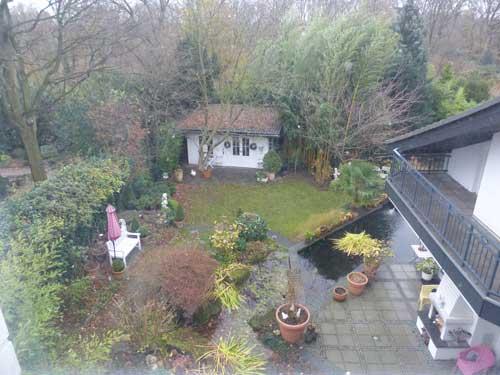 Вилла в Германии вид с балкона