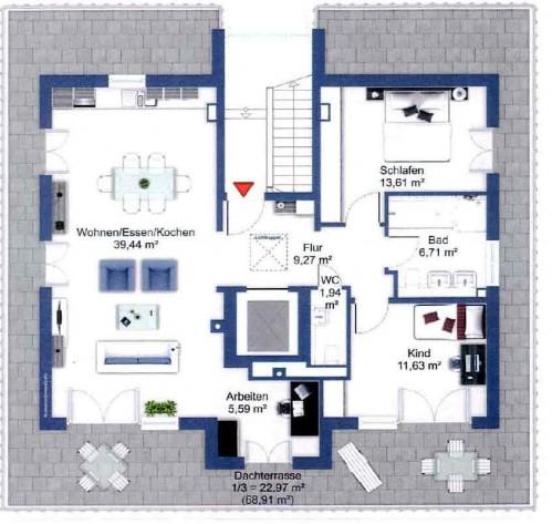 Мюнхен купить квартиру – продаётся квартира новое строительство пентхауз в Мюнхене